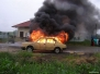 cvičení-požár auta